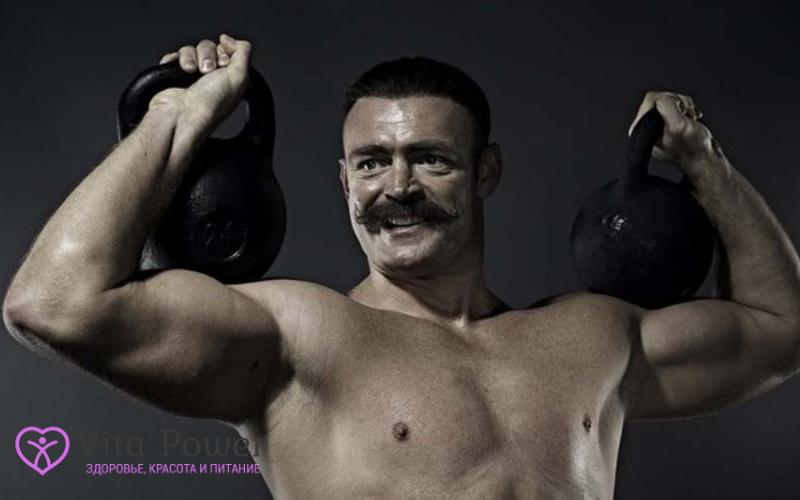 Иван Поддубный спортсмен вегетарианец